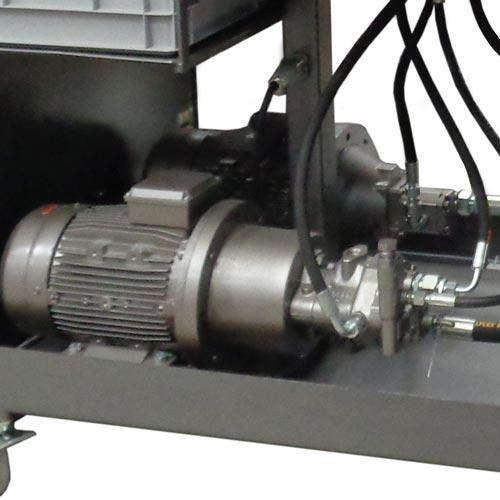Centrale hydraulique à cylindrée fixe ou variable avec LS