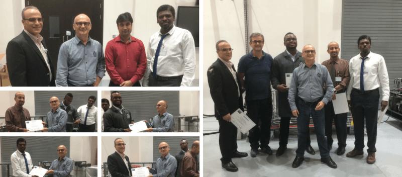 Certificats distribués aux professeurs de DEWA Academy