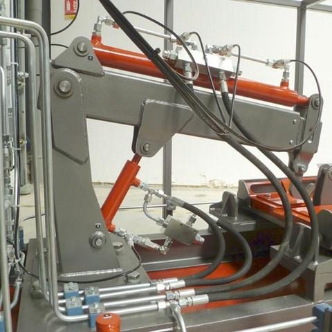Levage et télescope sont équipés de valves d'équilibrages