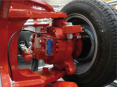 Moteur roue hydrostatique Poclain 255cm3