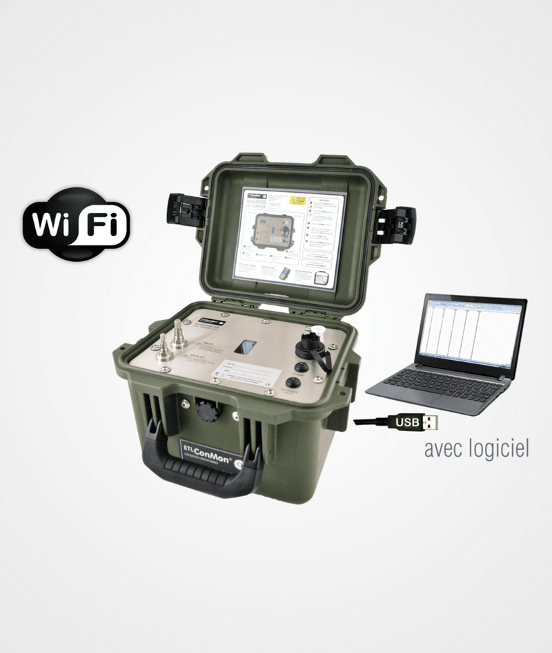 Compteur de particules CPH2O-PO avec Wifi