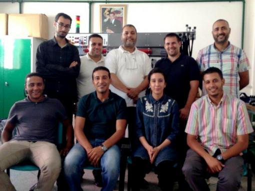 Mise en route banc didactique au Maroc