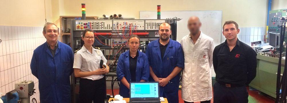 ESTLN : Formation des marins à l'hydraulique