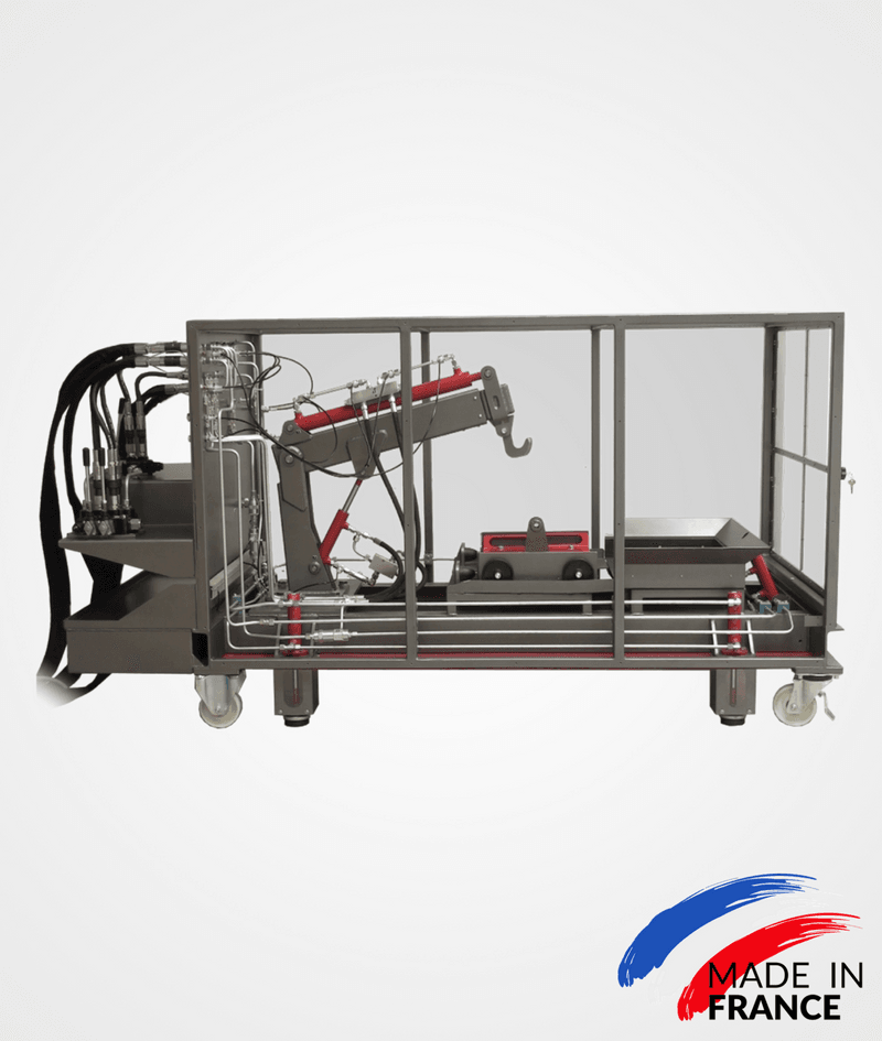 PO-GT-v3 Telescopic crane training bench (manual version)
