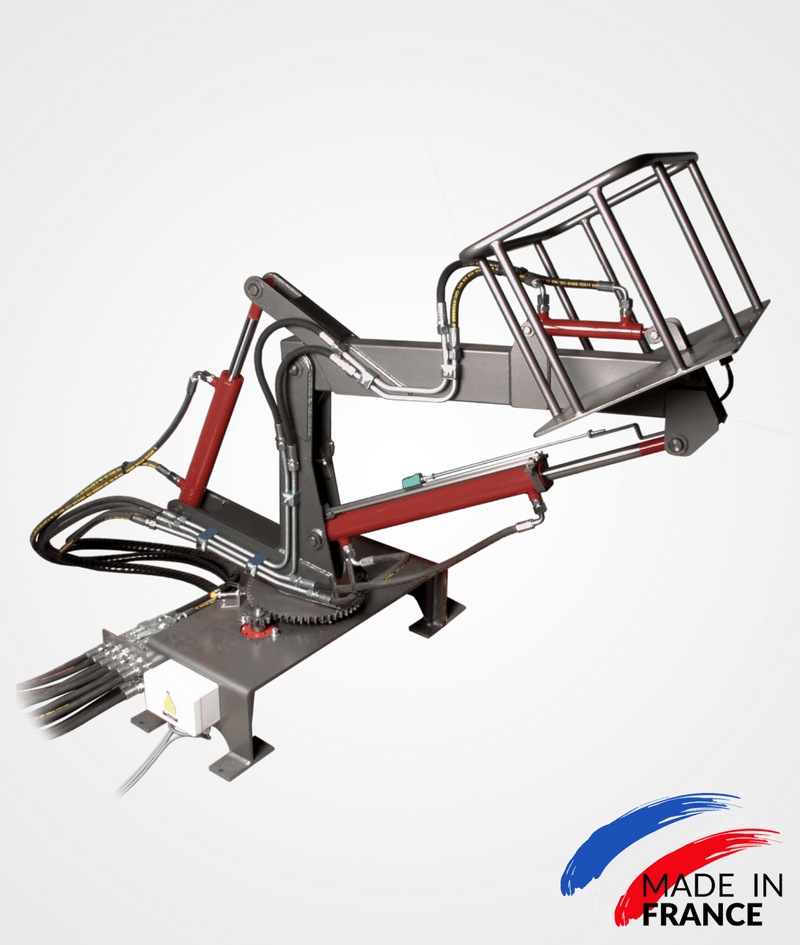 SHBN nacelle bench (telescopic crane)