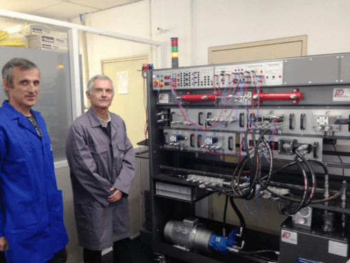 commissioning bhi4 proportional iut toulon