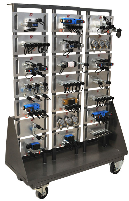 components modules storage rack