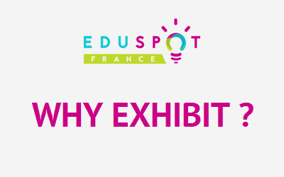 Why exhibit at Eduspot like an industrial?
