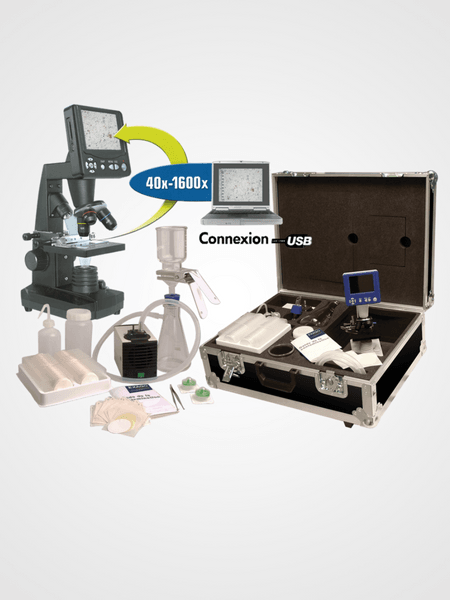 oil analysis kit id system