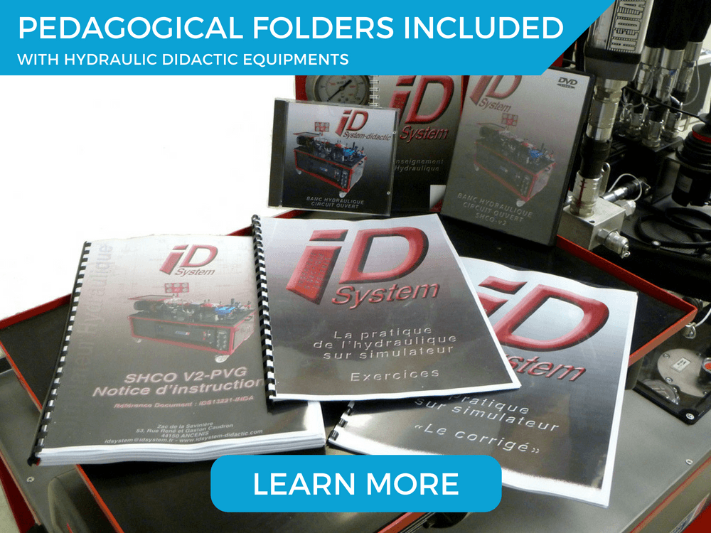 Pedagogical folders included