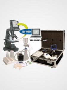 Option recommandée mallette d'analyses des fluides hydrauliques