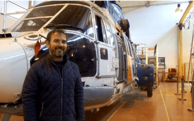 Yoann Gac's Portrait: from aircraft maintenance to hydraulic didactic benches design